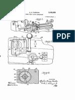 US3162059 - Lathe Power feed clutch mechanism.pdf