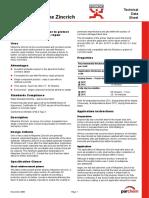 Nitoprime Zincrich TDS Reinforcement Primer