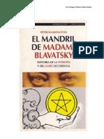 Blavatsky-Teosofia y GURUS ByTHOHT-HILL