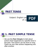 3 Past Tense