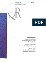 Spring 1995 Quarterly Review - Theological Resources for Ministry