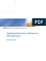 Deploying Open Source Software on Microsoft Azure