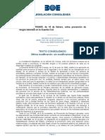 RD 179 2005 Sobre Prevención de Riesgos Laborales en La GC