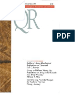 Spring 1997 Quarterly Review - Theological Resources for Ministry