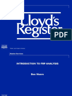 Introduction to FRP Analysis