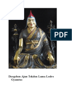 Dzogchen Ajun Tokden Lama Lodro Gyamtso