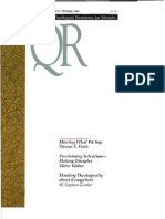 Spring 1999 Quarterly Review - Theological Resources for Ministry
