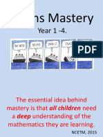 maths mastery parent workshop year 1-4