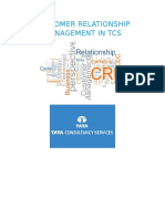 Customer Relationship Management in Tcs