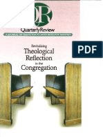Spring 2001 Quarterly Review - Theological Resources for Ministry