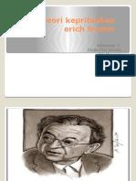 Teori Kepribadian Erich Fromm