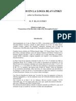 blavatsky, helena - Diálogos de la Logia Blavatsky