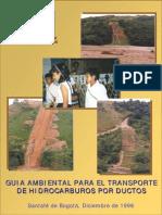 Guía Ambiental para el transporte de hidrocarburos por ductos