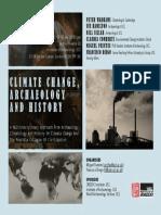 Conferencia Internacional sobre Cambio Climatico (UCL - Londres)