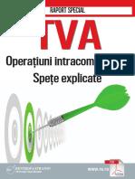Raport Special TVA. Operatiuni Intracomunitare. Spete Explicate161005054214