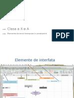 Elemente de Excel
