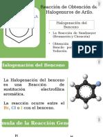 Halogenuros de Arilo
