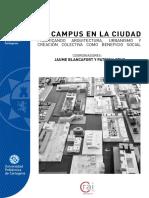 """Publicación """"Nuevo Campus de Arquitectura en Cartagena"""""""