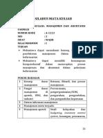Contoh Silabus MK Farmsi