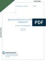 Agricultural Bangladesh