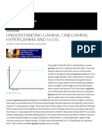 Understanding Gamma, Cinegamma, Hypergamma and S-Log _ XDCAM-USER