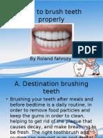 Roland Toothbrush