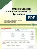 Progr. de Sanidade Animal e Insp. de Prod. de Origem Animal
