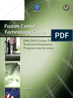 Fusion Center Technology Guide