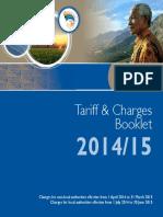Tariff Brochure v 9
