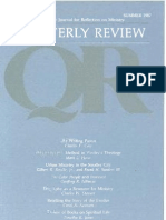 Summer 1987 Quarterly Review - Theological Resources for Ministry