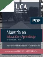 Inf Maestria en Educacion y Aprendizaje UCA