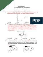 Electromagnetism Advanced Level