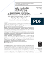 Charismatic Leadership and Self Leadership