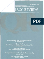 Summer 1990 Quarterly Review - Theological Resources for Ministry