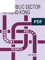 The Public Sector in Hong Kong