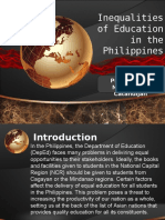 Inequality of Education in the Philippines