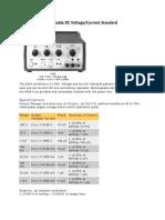 2554 Portable Dc Voltage