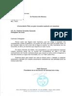 Mensaje de condolencias de la Asociación de Amistad lrán-Cuba