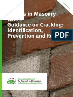 Cracks in Masonry Walls