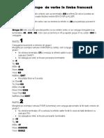 Cele 3  grupe  de verbe în limba franceză.docx