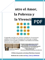 Entre El Amor, La Pobreza y La Vivencia.30 primeras páginas