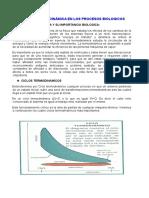 Termodinámica en Los Procesos Biologicos (1)