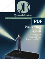 Summer 2001 Quarterly Review - Theological Resources for Ministry