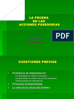 ACCIONES POSESORIAS