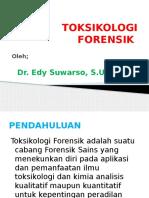 ( 1 ) TOKSIKOLOGI FORENSIK