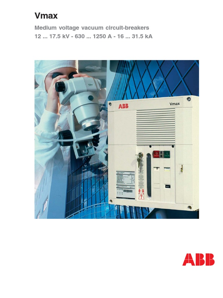 ABB Vacuum Breaker   Electric Current   Electrical Connector