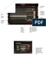 quick reference guide - powered mixer