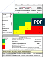 FMECA Risk Matrix & RPN Table Cw RI Methodology.