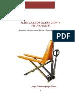 Maquinas de Elevacio y Transporte 2014