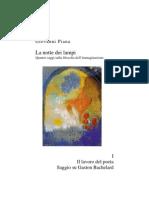 Giovanni Piana, Il lavoro del poeta. Saggio su Bachelard